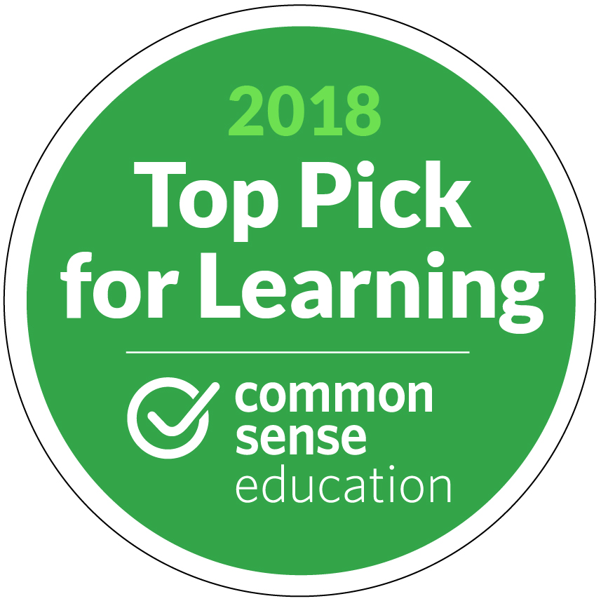 4 out of 5 Stars from Common Sense Education | QwertyTown